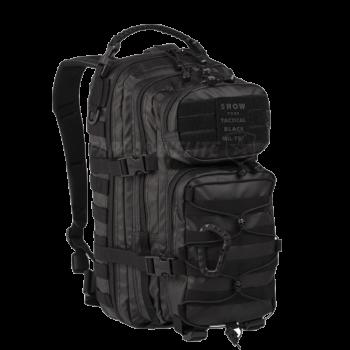 Mochila Assault Mil-Tec Waterpoof Preta 20L