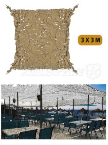 Proteção Solar Para Area Externa 3 X 3  Desert