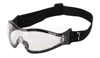 Óculos Proteção lente Branca com Fita