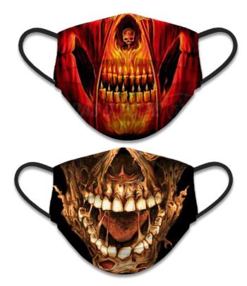 Máscara Facial Reversivel Mandibula + Mandibula e Velas