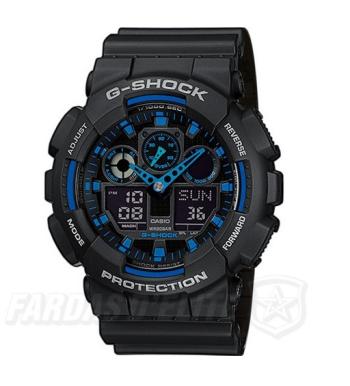 Relógio CASIO G-Shock GA-100-1A2ER AZUL