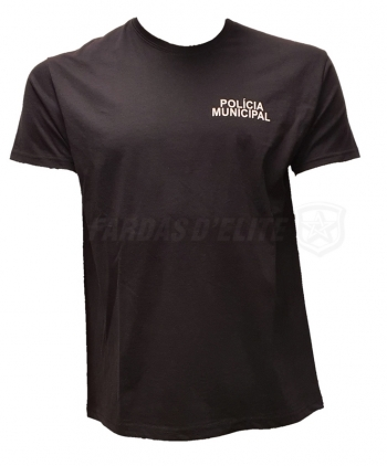 T-shirt Policia Municipal Simples