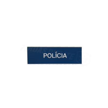 Placa de Nome PVC Personalizável 8CM x2.5CM