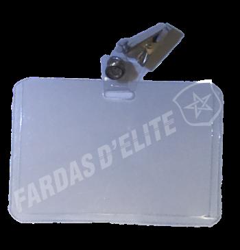 Porta Identificação Plástico MALEÁVEL