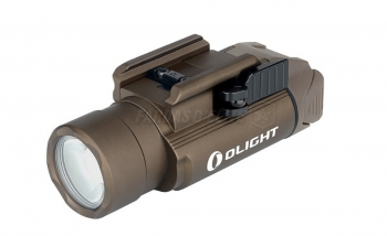 Lanterna Arma Recarregável Valkyrie OLIGHT PL-PRO 1.500 LUMES DESERT