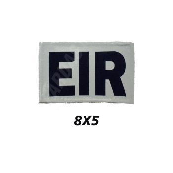 Placa de Velcro EIR  Refletor 8CM X 5CM