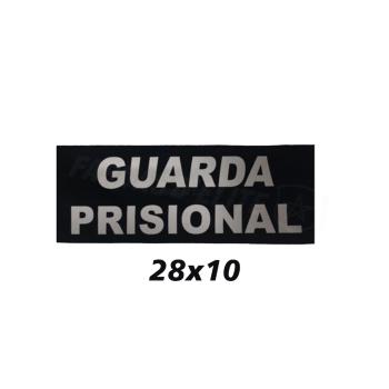 Placa de Velcro Guarda Prisional 28CM x 10CM