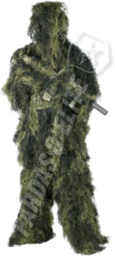 Fato Sniper Atirador Ghillie Helikon Tex
