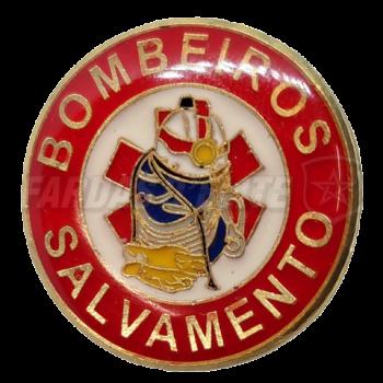 Pin Vitrificado Bombeiros SALVAMENTO