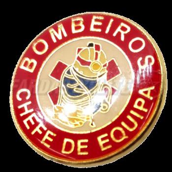 Pin Vitrificado Bombeiros CHEFE DE EQUIPA