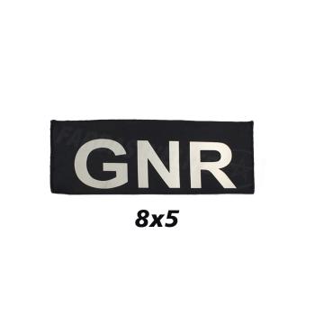 PLACA DE VELCRO GNR 8CM X 5CM